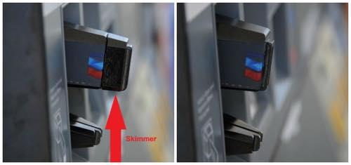 セルフガソリンスタンドのカード挿入口のスキミング3