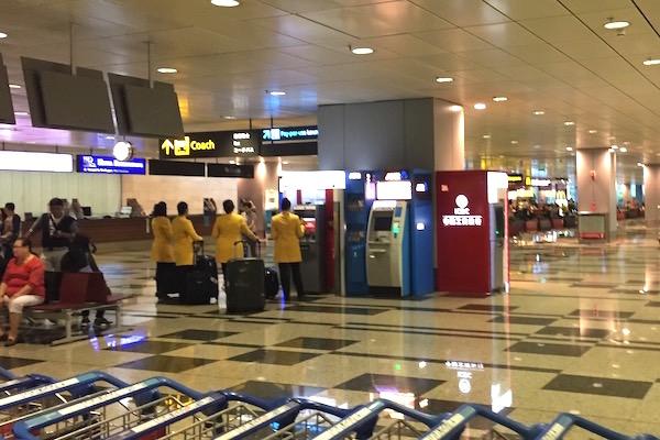 シンガポール・チャンギ空港のATMで海外キャッシング