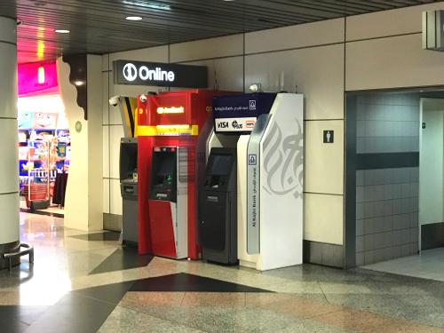マレーシア クアラルンプール国際空港のATM