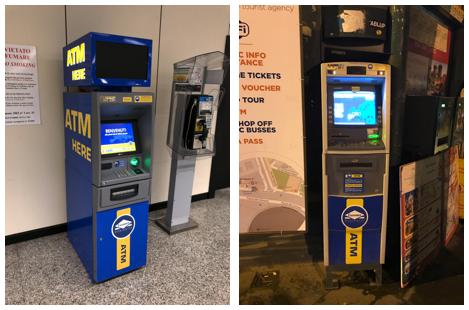 ローマ Euronet(ユーロネット)ATM