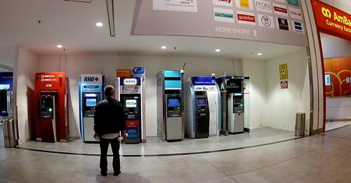 クアラルンプール国際空港第2ターミナル(KLIA2)のATM