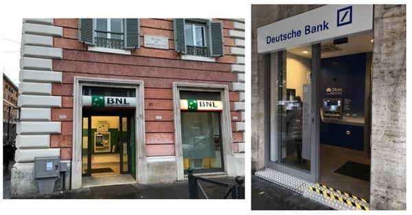銀行の建物の中にあるATMは安全