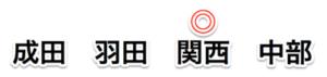 成田、羽田、関西、中部空港 外貨両替比較