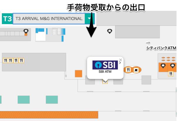 SBI銀行ATMの場所