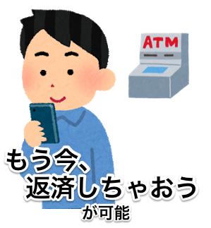 海外ATMでのキャッシングが即時反映・即時返済が可能
