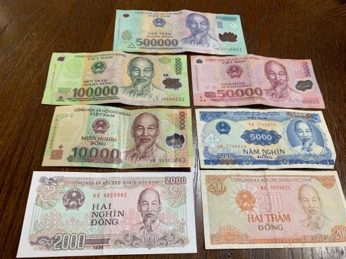 ベトナムドンの紙幣