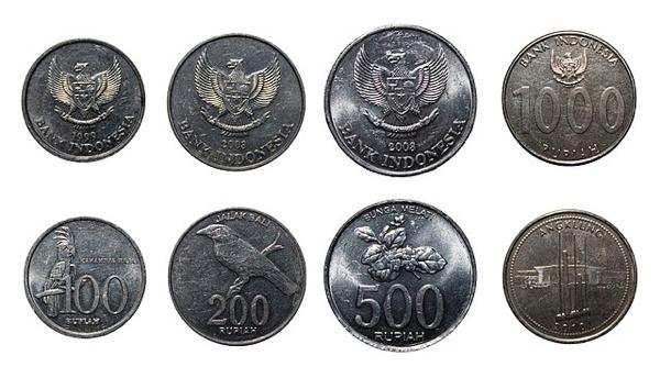 インドネシア・ルピアのコイン(硬貨)