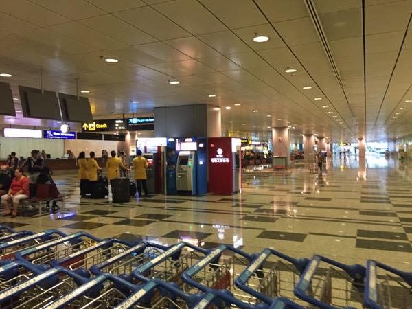 シンガポール チャンギ国際空港ターミナル3 ATM