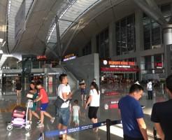 貴陽 龍洞堡空港のATM